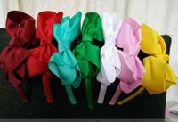Wholesale--Babyhaarbögen befestigt Stirnbänder Haarband hairbows Stirnband 30pcs / ot