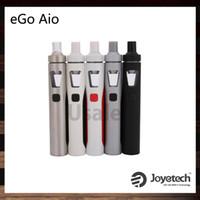 Joyetech eGo AIO Kit avec batterie de capacité 1500 ml, structure anti-fuites et dispositif de verrouillage tout-en-un à l'épreuve des enfants 100% d'origine