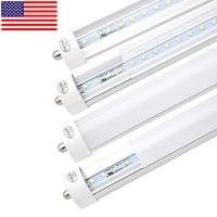 "Stock In US+ 50- Pack 96"" 8ft 45Watt T8 LED Tube, FA8 sin..."