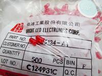 Taiwan BRIGHT 5MM led rosso perline lampada capelli rossi rosso evidenziano assolutamente autentico