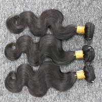 أفضل نوعية البرازيلي الجسم موجة 3 حزم الكثير البرازيلي الشعر غير المجهزة الإنسان ينسج Bunldes الشحن السريع