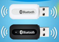 Adaptateur dongle récepteur audio sans fil Bluetooth musique 3,5 mm USB pour PC de voiture auxiliaire pour téléphone IOS / Android