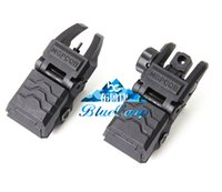 Flowing Back-up Polymer Sight Front and Rear Hunting Fule Scope per montaggio ferroviario 20mm AR15 M4 ARISOFT