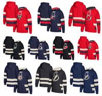 Moletom Com Capuz de Hóquei no Gelo Winnipeg Jatos Dallas Stars Nova Jersey Devils Columbus Jaquetas Azul Tampa Bay Relâmpago Carolina Hurricanes