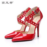 12cm multicolor paint heels for women' s shoes sexy stag...