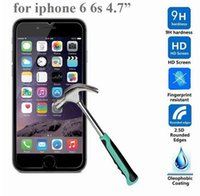 9H tempered glass For iphone 4s 5 5s 5c SE 6 6s plus 7 plus ...