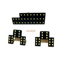 Lumières de lecture décoratives intérieures de voiture de roi LED de juillet pour Suzuki SX4, puces de 2835 LED SMD, 6000K blanc, intense luminosité, 3pcs