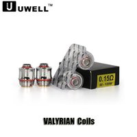 Authentic Uwell VALYRIAN Atomizer Coil 0. 15ohm 95W- 120W Dual...