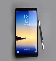 N8 Goophone Note8 EDGE Показать 4G LTE 2GB 16GB 64-бит Quad Core MTK6580 Android 6.0.1 6,2-дюймовый 1920 * 1080 FHD-камера Smartphone Бесплатно DHL