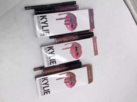 2016 New kylie jenner Lipstick Kylie set lip gloss liquid li...