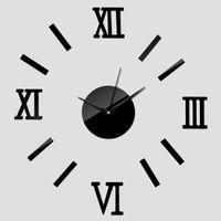 reloj de pared caliente de la venta reloj reloj moderno de la aguja de la sala de estar del diseo del reloj de relojes grande espejo de acrlico d