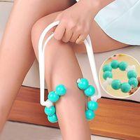 Soba borusu masaj cilt topu rulo cihazı sağlık monitörler İnce ayak anti-yorgunluk bacak masajı relax Toptan