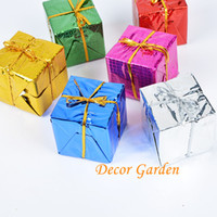 Wholesale retail 5cm Mixed Color Christmas Small Gift Bag Ch...