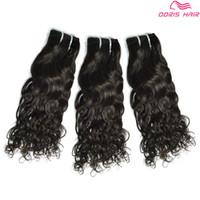 أعلى درجة 8A الطبيعية موجة الشعر البشري حزم 3 قطعة الكثير الشعر ينسج لحمة المنك الشعر البشري حرية الملاحة