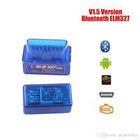 2016 SuperMini ELM327 Bluetooth V1.5 OBD2 II Auto Diagnostic Tool ELM 327 Bluetooth Work ON Android Torque