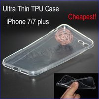Soft TPU Clear Fitted Case Cover For iPhone 7 i7 Plus Samsun...