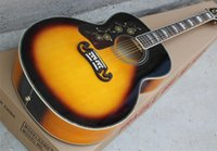 Left Handed Brand New Custom Shop Spurce Top Acoustic Electr...