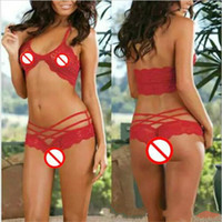 New Fashion Sexy Attract Women Sexy Lingerie Sleepwear G- str...