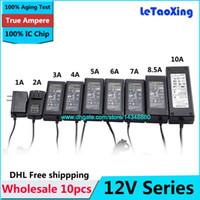 10pcs Wechselstrom DC 12V 12W 24W 36W 60W 100W 120W Adapter, 12V 1A 2A 3A 4A 5A 6A 7A 8A 8.5A 10A Spg.Versorgungsteil für LED-Streifen mit IC-Span