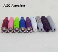 뜨거운 미니 AGO G5 Atomizer aGo G5 기화기 Clearomizer 건조 허브 탱크 vig 전자 담배에 대 한 펜 ugo eGo evod 배터리 DHL 무료