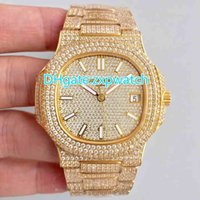 Full iced out hip hop rappers watch fashions automatic best ...