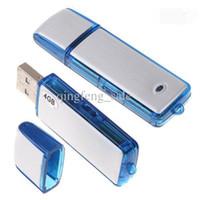 Высокое качество аудио диктофон USB флэш-накопитель 4GB 8GB ошибка 2in1 комбинация VOS цифровой диктофон столб фарфора freeshipping