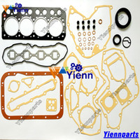 S4L S4L2 full overhaul gasket kit upper lower for Mitsubishi...