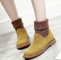 New Arrival Winter Chelsea Boot Women Ankle Boots Cow Leathe...