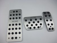 볼보 S80L XC60 C30 S40 XC90 알루미늄 가스 연료 페달 발판 페달 브레이크 페달