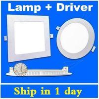 عكس الضوء الصمام الاضواء لوحة 9W 12W 15W 18W 21W لوحة أدى تعطل السقف دوونلايتس مصباح مطبخ مع السائقين