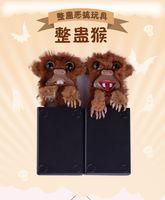 2 Stil Parmak Sneekums Oyuncaklar Komik Maymun Pet Prankster Tricky Maymun Sürpriz Çocuklar Hediye Spoof Maymun Jitters Kürk Plastik Pet