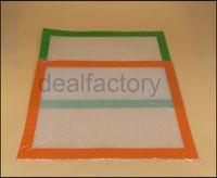 Пищевой силиконовый коврик антипригарные силиконовые коврики для 400 * 300 мм (15.74*11.81 дюймов) BHO воск Dab Pad стекловолоконные коврики проходят FDA Lfgb тест