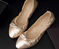 Die neue 2016 der Frühling und Herbst und die flachen Mund Kegel Schuhe zeigte flache einzelne Schuhe doug Kürbis Schöpfkelle Krankenschwester Schuhe lässig
