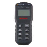 Qualità distanziometro laser gamma metro laser del commercio all'ingrosso di alta finder telemetro ultrasonico di distanza Misurare Point telemetro LCD