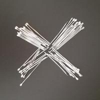 Strumenti del dabber di cera Gli accessori per fumo in acciaio inox puliti in acciaio inox Auricolare in metallo 80mm per il contenitore Dry Herb Bongs narghilè