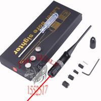 Taktik Kırmızı Colimador Lazer Çap Kapsamı. 22 to. 50 Kalibre Delik sighter Yeni Stil 3 Pil Kolimatör