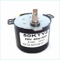 50 KTYZ 220 V ac ímã Permanente Motor elétrico Síncrono, Reversível Controlado de Baixa velocidade micro motores, Frete Grátis J15022