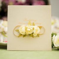 2016 New Colorful Flower Elegant 3D Floral Wedding Invitations Card 300pcs  Lot Wedding Supplies