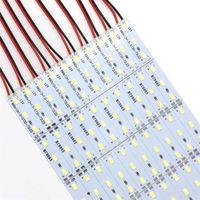5630 SMD 72 LED 100 cm LED-starre Streifen Lichter für Nachtmarkt Schmuck Zähler Showcase Aluminiumblechlampe
