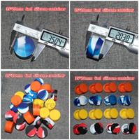 Accessori per sigarette elettroniche Contenitore antiaderente in silicone da 6ml Contenitore per cera Bho Olio Butano Vaporizzatore Vasi in silicone Dab Contenitore per cera