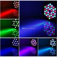 36W 36 LED Flat Par Stage Lights Lampada con spina EU / US per Club Disco KTV E00373 OSTH