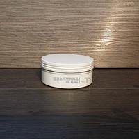 Ücretsiz kargo 60g kozmetik beyaz renk için alüminyum kavanoz, 60 ml alüminyum teneke, alüminyum konteyner