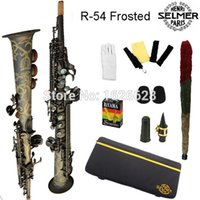 Wholesale- Free shipping Genuine France Soprano Saxophone 54 ...