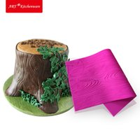 Woodgrain Fondant Impression Mat New Pattern Decorative Desi...