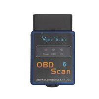 2016 도매 최고의 품질 ELM327 Vgate 스캔 고급 OBD2 블루투스 스캔 도구 (안드로이드 및 심비안 지원) 무료 배송