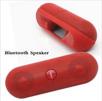 جديد XL المتكلم بلوتوث المتكلم حبوب منع الحمل XL مع صندوق البيع بالتجزئة أسود / أبيض / وردي / أحمر / أزرق Colorfor الكمبيوتر اللوحي PSP iphone6 S6 HTC الهاتف MPDHL