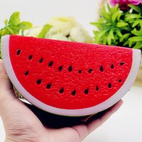 Wholesale Squishy watermelon 18*9CM Slow Rising Soft Collect...