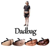 Men and Women Fashion Dad Bod Bag Funny Beer Belly Pocket Wa...