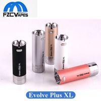 أصلي Yocan Evolve Plus XL Battery 1400mAh E Cape Dape Vape Pen Battery with Silicon Bar