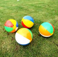 30 centimetri gonfiabili Nuoto in mare giocattolo sfere pvc materal pallone da spiaggia palle gonfiabili nuotare piscina galleggiante bambini palline giocattolo